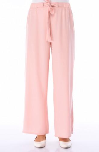 Pantalon Large élastique 0689-05 Saumon 0689-05