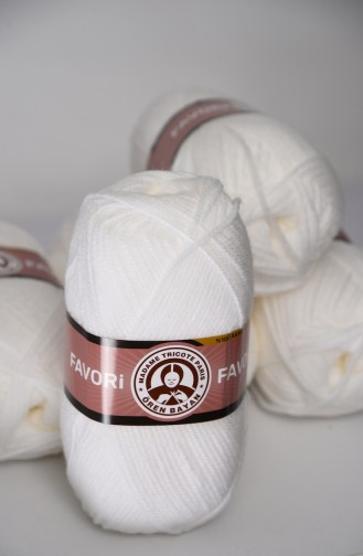 White Knitting Rope 1768-033