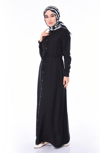 فستان أسود 4280-01