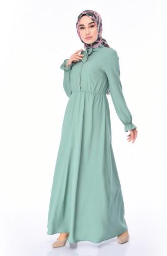 Green Dress 1027-03