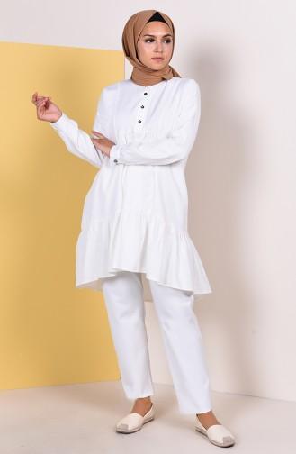 White Tunic 9014-17