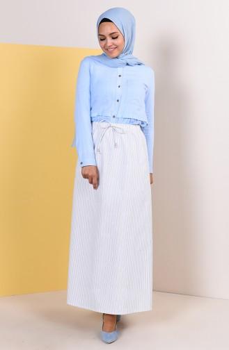 تنورة أزرق كحلي 1001G-04