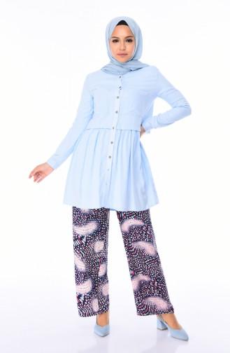Navy Blue Pants 1025-03