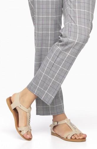 Beige Summer Sandals 2190-03