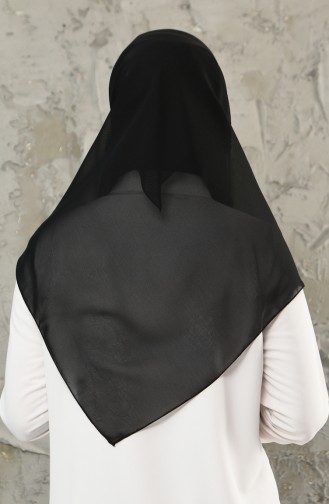 Echarpe Mousseline 13031-13 Noir 13031-13