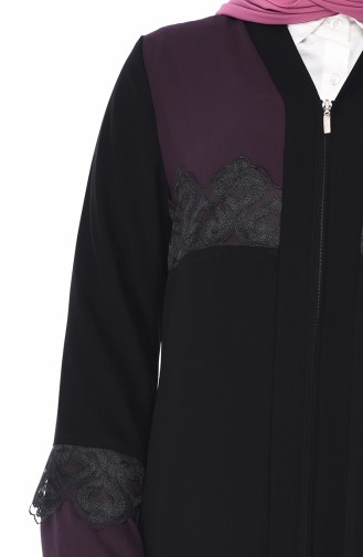 Purple Abaya 0011-02