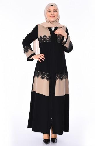 Beige Abayas 0011-04