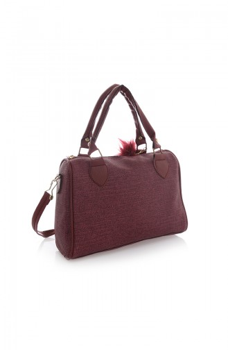 Claret red Shoulder Bag 122Z-08