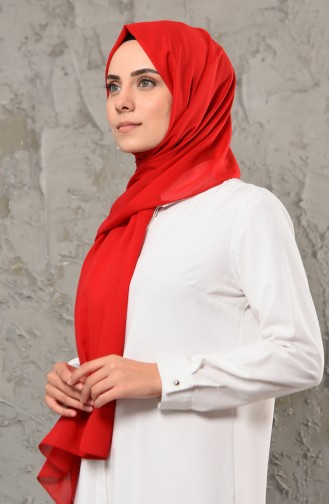 Châle Mousseline 13001-25 Rouge 13001-25