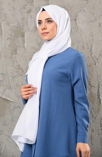 White Sjaal 13032-04