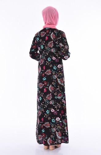 Robe Viscose 4522A-01 Noir 4522A-01