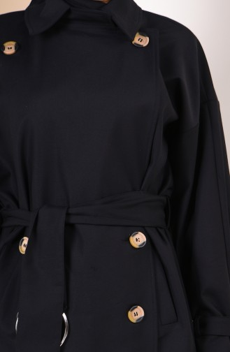 Black Trench Coats Models 90003-05