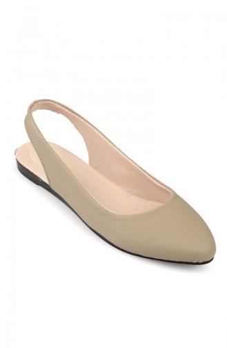Mink Woman Flat Shoe 6583-3