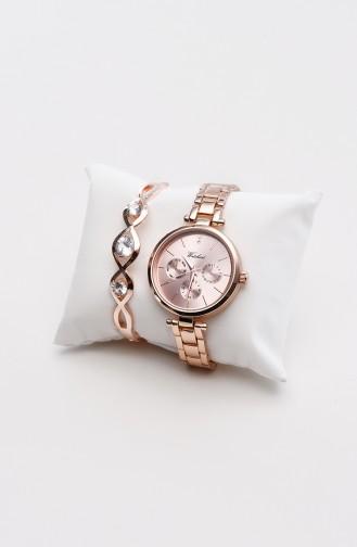 Watchart Combinaison Montre Pour Femme CW211093 Cuivre 211093