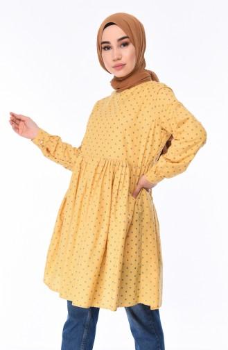 Yellow Tunic 1219-09