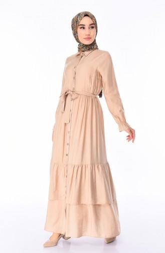Beige Dress 1028-07