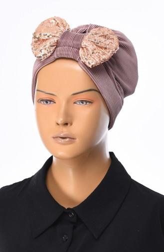 Bonnet Noeud a Paillettes 1040-11 Vison 1040-11