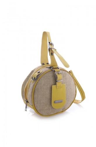حقيبة كتف أصفر 01Z-03