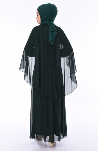 Abendkleid 52661-02 Smaragdgrün 52661-02