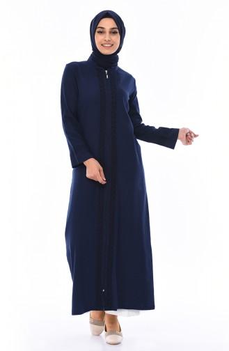 Navy Blue Abaya 22207-08