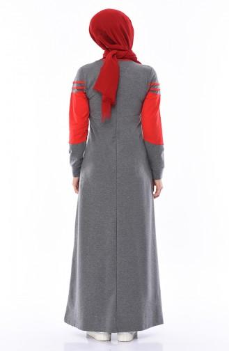 Cepli Spor Elbise 7010-03 Antrasit