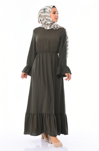 Khaki Dress 5029-02