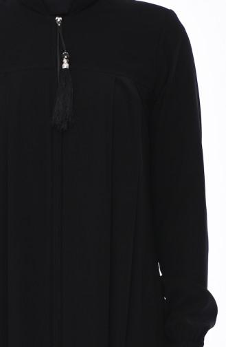 Black Abaya 0014-02
