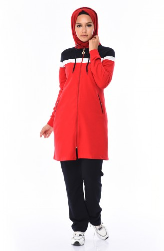 Pocket Suit Tracksuit 95020-03 Red 95020-03