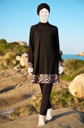 Black Swimsuit Hijab 1978-01