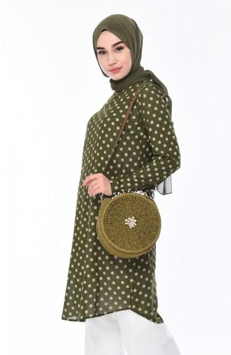 Tunique Vert khaki clair 1074-05