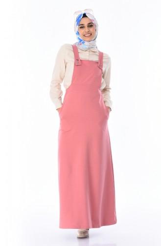 Salopet Gilet Kleid  7012-05 Puder Rosa 7012-05