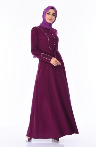 Lila Hijap Kleider 8152-01