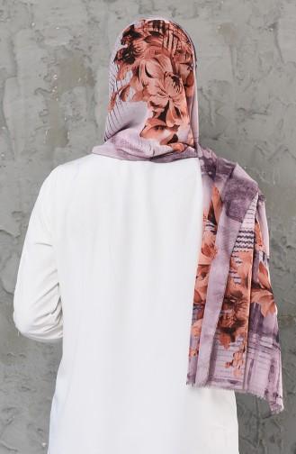 Dark Lilac Sjaal 26008-10