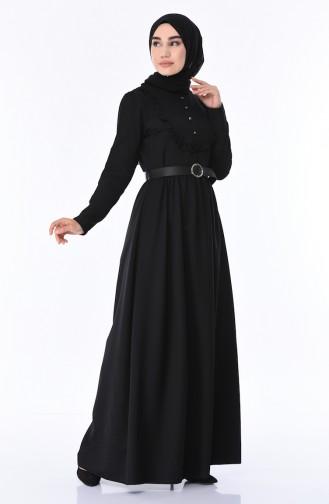 Black İslamitische Jurk 8140-01
