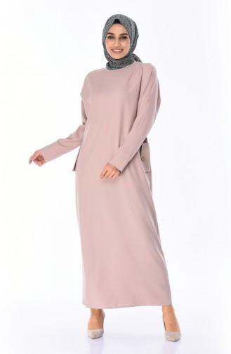 Beige Dress 0246-08