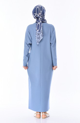 Blue Dress 0246-09