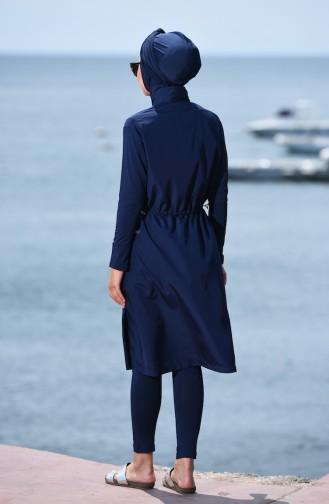 ملابس السباحة أزرق كحلي 366-02