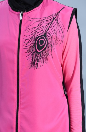 Pink Swimsuit Hijab 405-06