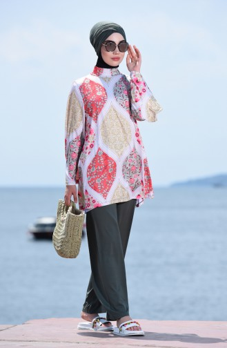 Khaki Swimsuit Hijab 1948-01