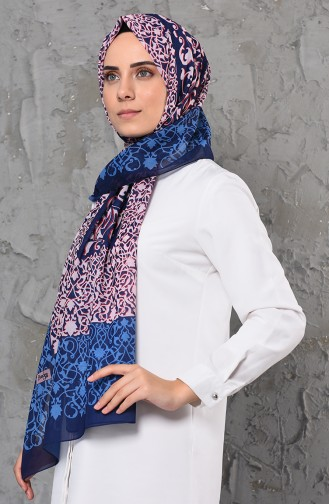 Navy Blue Shawl 13058-01