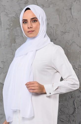 شال أبيض 13059-09