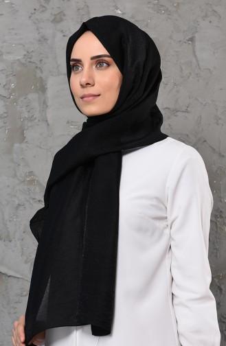 شال أسود 90581-02