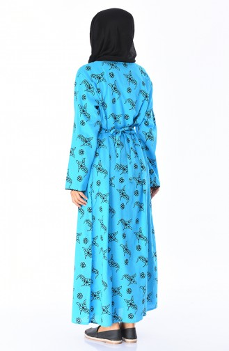 Turquoise Dress 32201A-04