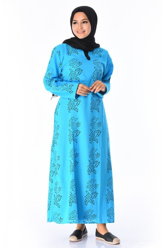 Turquoise Dress 32201B-01