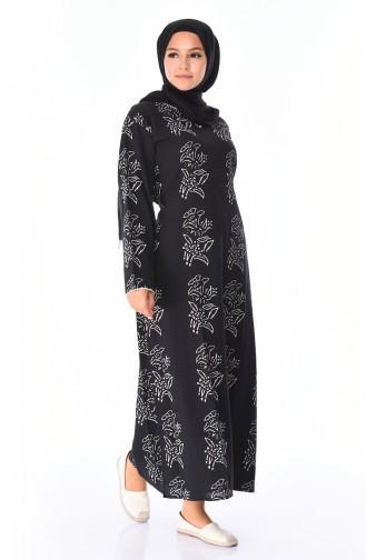 فستان أسود 32201B-03