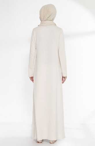 TUBANUR Suit Looking Dress 2895-16 Light Beige Almond Green 2895-16