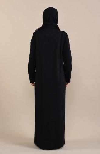 Black Abaya 10006-02