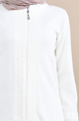 Cream Abaya 22207-01