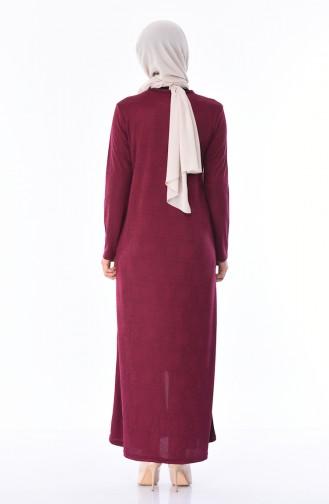 Damson Abaya 3000-04