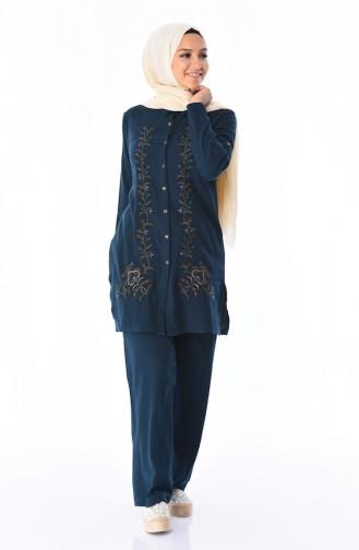 Oil Blue Shirt 25203-01
